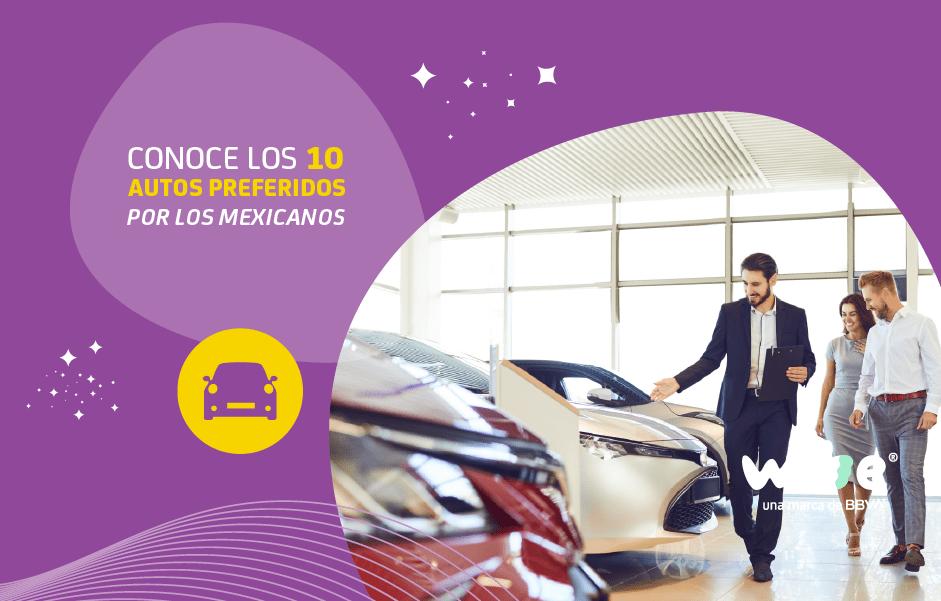 10 autos preferidos por los mexicanos, autos favoritos de México, autos favoritos de los mexicanos, marcas de autos preferidas en México