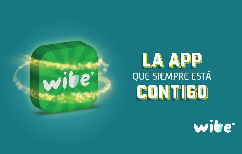 wibe, la app que siempre está contigo, wibe aplicación