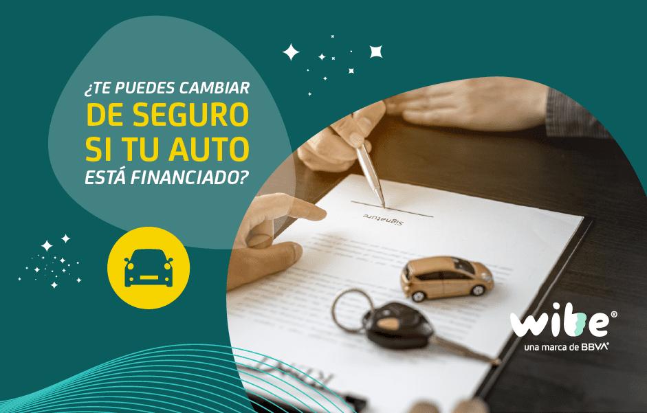 Cambiar seguro de auto financiado