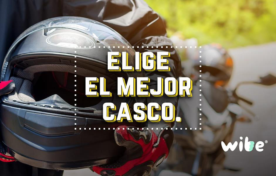tips para elegir el mejor casco de motociclista, consejos al comprar un casco para moto, qué considerar al comprar un casco, tips de seguridad al viajar en moto