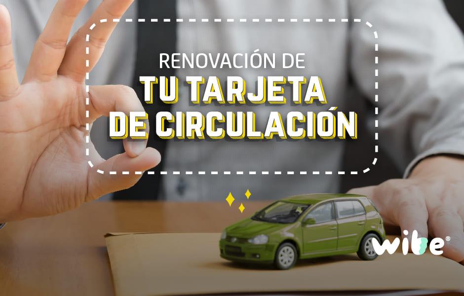 renovar tarjeta de circulación, cómo renovar la tarjeta para circular, renovación de permiso para circular en cdmx, trámites vehiculares en df