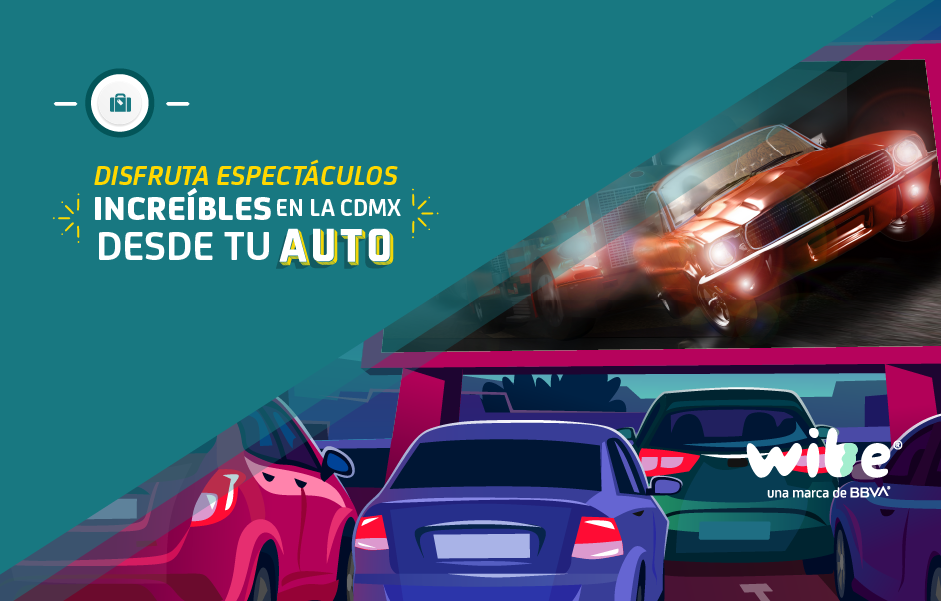 opciones para entretenerse desde el auto, alternativas para divertirse desde el auto en cdmx, autocinemas en la cdmx, espectáculos para ver desde el auto en ciudad de méxico, restaurantes que ofrecen servicio desde el auto
