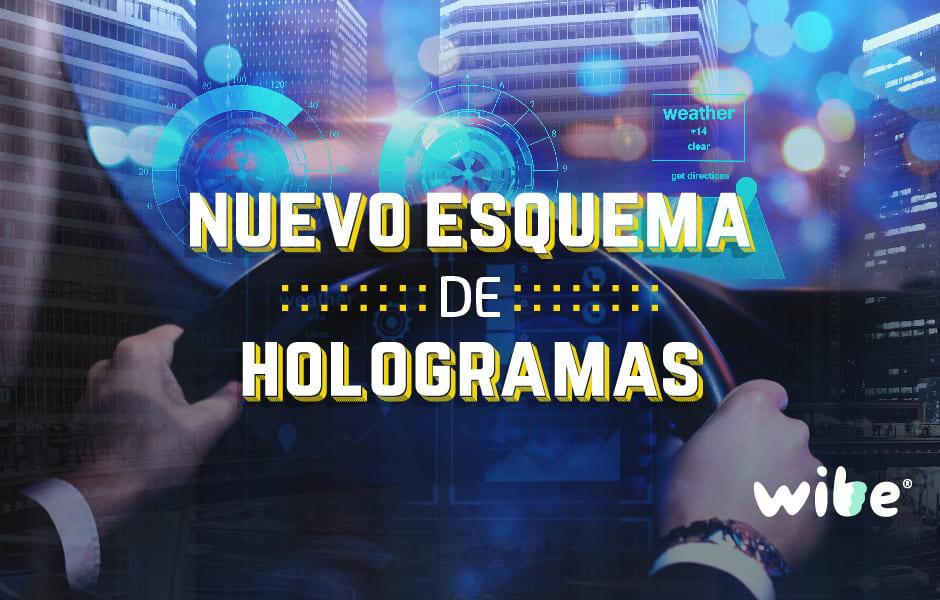 Nuevo esquema para entrega de hologramas de verificación en la CDMX