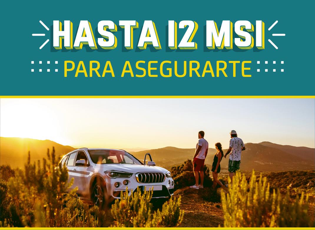 Asegura tu auto Fronterizo y Legalizado a MSI