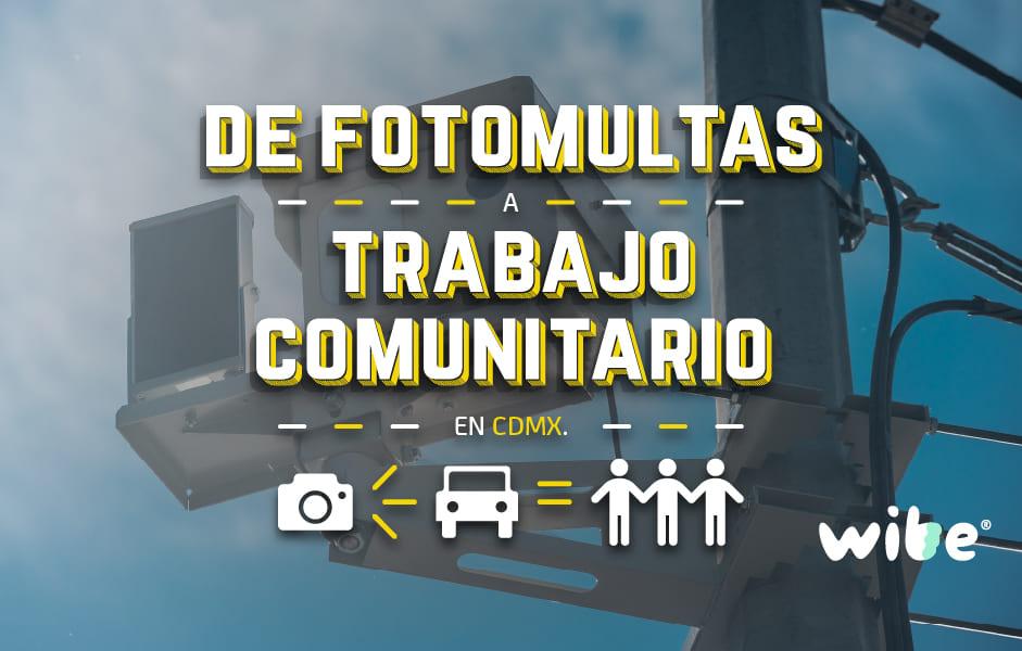 fotomultas, sistema de puntos y trabajo comunitario, multas de tránsito cdmx, claudia sheinbaum, infracciones de tránsito ciudad de méxico 2019