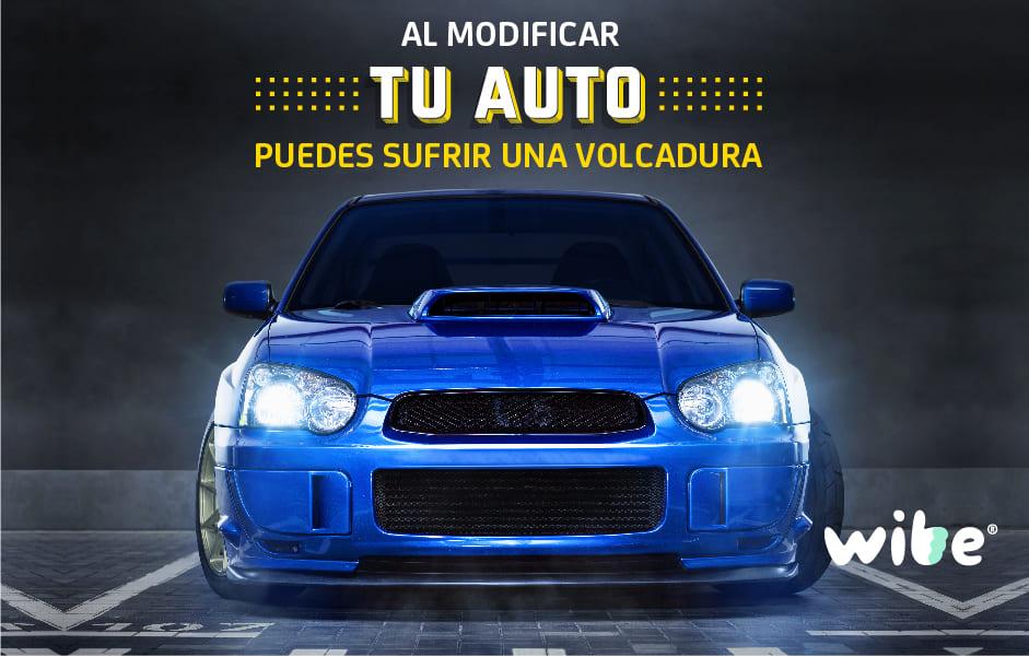 riesgos de modificar un auto, tuneo de un auto, qué es el tuning, volcaduras por adaptación de carro, auto tuneado riesgos