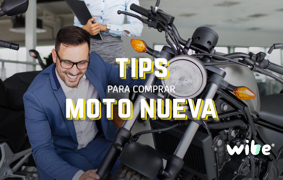 tips para comprar una moto nueva, consejos al comprar una motocicleta, moto nuevo, asegurar moto