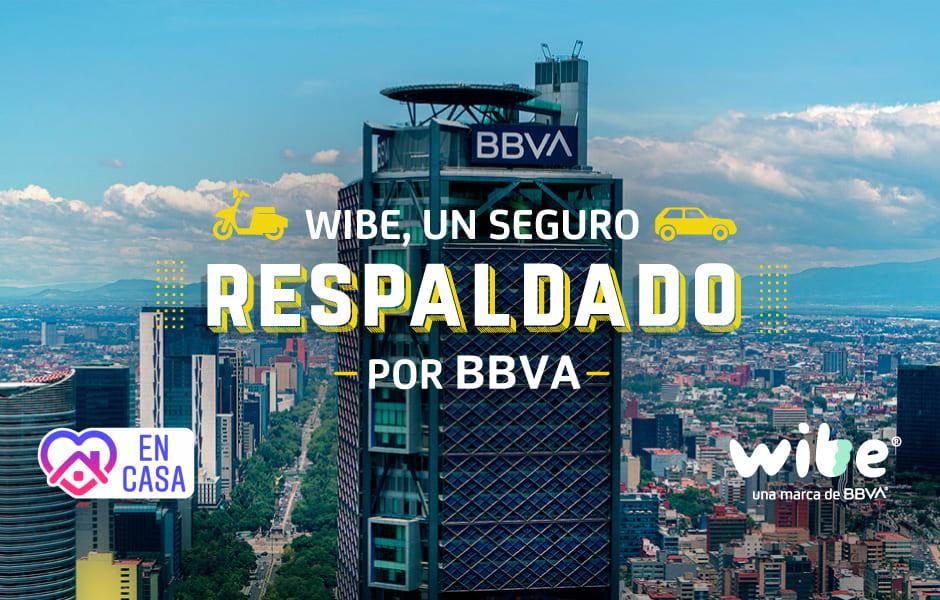 wibe, seguros wibe, seguros bbva, bbva, seguros bancomer, seguro de auto bancomer, seguro de auto con bbva, wibe una marca de bbva, beneficios wibe