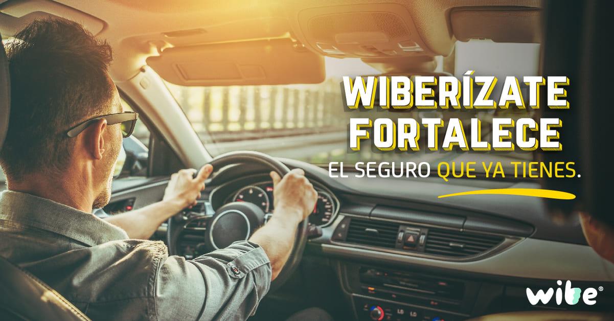wiberízate, aumentar coberturas en seguro de auto, seguro de llantas, cobertura para robo de autopartes wibe